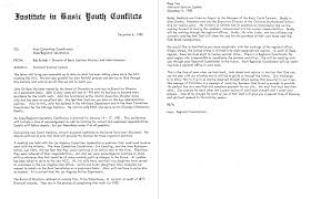 Letter Of Intent For Leave Of Absence by The Gothard Files Failure To Reconcile 1981 Ati