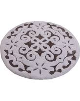 Black And White Bathroom Rug by Exclusive Deals On Round Bath Rug
