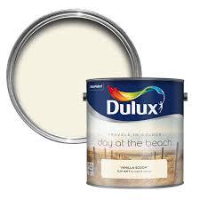 dulux travels in colour vanilla scoop cream matt emulsion paint