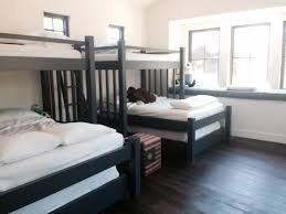 custom bunk beds perpendicular cape cod twin over king over queen
