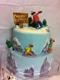 best 25 snowboard cake ideas on pinterest snow cake mountain