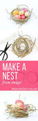 how to make a decorative bird u0027s nest out of twigs