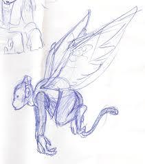 sketch flying monkey by themutt81 on deviantart