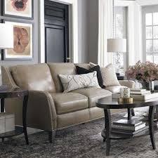 sofa taupe taupe leather sofa foter