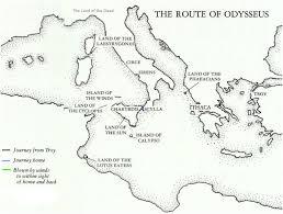 odyssey map starkeyodyssey the odyssey route map