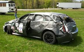 cadillac cts v wagon price cadillac cts v wagon wrecked at one of america autoguide com