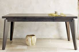 west elm expandable table angled leg expandable dining table from west elm apartment therapy