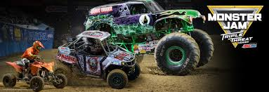 monster truck show in florida monster jam triple threat series presented by amsoil is coming