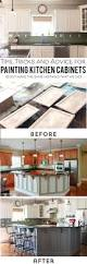 Painted Off White Kitchen Cabinets Top 25 Best Painted Kitchen Cabinets Ideas On Pinterest