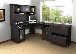 Office Table L Shape Design L Shaped Home Office Furniture Plywood Materials Massive Base