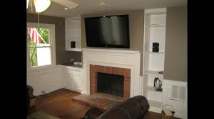 High Fireplace Mounting Tv Above Fireplace Be Equipped How To Install Tv Wall Mount
