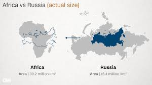 Russia Map Image Large Russia by Why Do Western Maps Shrink Africa Cnn