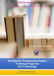 gis class online online professional gis programs brochure mar 2015