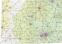Ft Worth Map Download Topographic Map In Area Of Dallas Fort Worth Oklahoma
