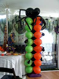 Columns For Party Decorations 36 Best Halloween Balloons Images On Pinterest Balloon