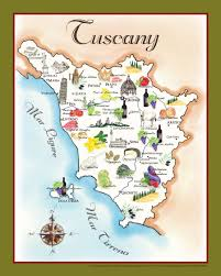 Map Of Tuscany Italy Tuscany Italy Map 10 Siena San Gimignano And Pisa Italy Tuscany