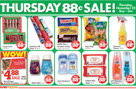 thanksgiving day bogo sale at family dollar 3 day sale