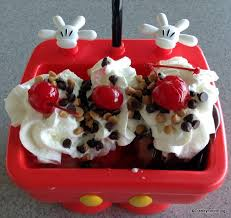 NEW Mickey Kitchen Sink Sundae AKA The Mickey Pants Sundae In - Kitchen sink ice cream sundae