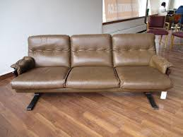 Unique Leather Sofa Arne Norell Leather Sofa With Stitching From A Unique