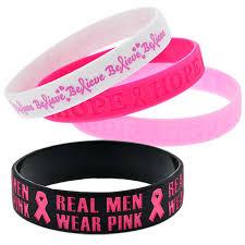 bracelet rubber images Bulk breast cancer awareness rubber bracelets at jpg