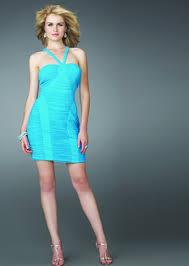 light blue halter dress ivo hoogveld