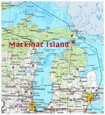 map of mackinac island map of mackinac island michigan michigan map