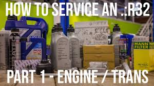 How To Service Your Mk4 R32 Part 1 Engine And Transmission Oil