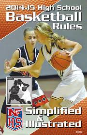 2014 15 nfhs basketball rules simplified u0026 illustrated sample