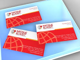 business card business card design for project middle east