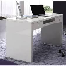 Stylish Computer Desk High Gloss Computer Desk White 14164