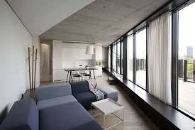 apartments chic minimalist apartment decor living room and