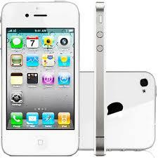 Conhecido iPhone 4 32GB Branco - Saldao da Informatica &QQ24