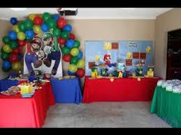 mario birthday party mario birthday party ideas