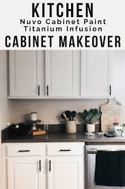 is nuvo cabinet paint kitchen cabinet makeover with nuvo cabinet paint moments