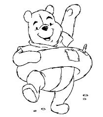 winnie pooh pictures color kids coloring