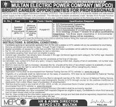 assistant manager environment mepco jobs 2017 multan electric