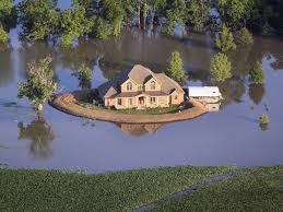 House With A Moat Photos Come High Water Homemade Levees May Save The Day Wbur News