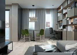Interior Designs For Apartment Living Rooms 5 Small Studio Apartments With Beautiful Design
