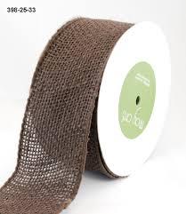 2 5 inch burlap wired ribbon may arts wholesale ribbon