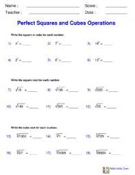 exponents with division worksheets math aids com pinterest