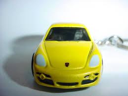 porsche cayman s top gear buy 3d yellow porsche cayman s custom keychain fob key ring