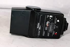 used vivitar 550fd auto thyristor nikon dedicated with instruction