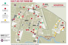 Downtown Houston Map Parking Maps University Of Houston