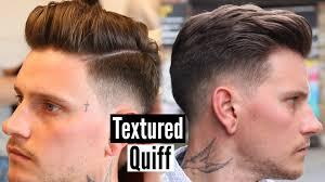 mens quiff hairstyle u0026 haircut tutorial mens hair 2017 youtube