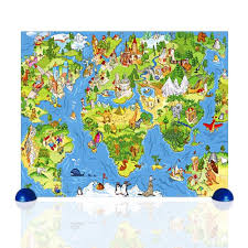 usa map jigsaw puzzle by hamilton grovely 2 around the world 80 pc children s pintoo jigsaw puzzle