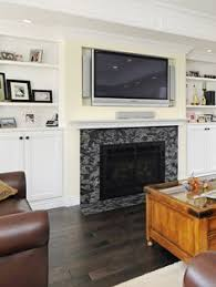 Decorations Tv Over Fireplace Ideas by Fireplace Design Ideas With Tv Fireplace Design Pinterest