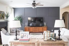 family room makeover family room makeover with diy panel wall
