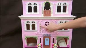 Little Tikes Barbie Dollhouse Furniture by Fisher Price Loving Family Grand Dollhouse Youtube