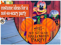 Mickey Halloween Costume Disney Halloween Parties Family Friendly Costume Ideas