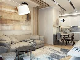 contemporary style family apartment in natural colors home